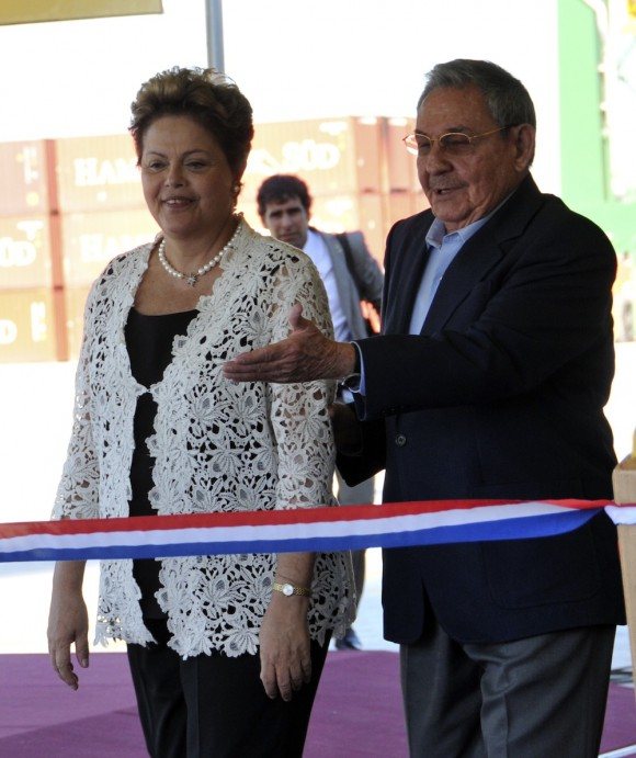 En fotos, la inauguración de la Terminal de Contenedores de Mariel (+ Video)