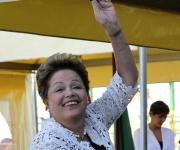 El saludo de Dilma. Foto: Ladyerene Pérez/ Cubadebate