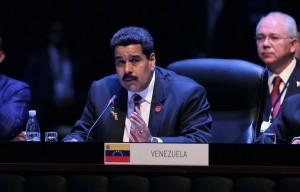 Maduro interviene en la segunda sesión de la Cumbre de CELAC. Foto: Ismael Francisco/ Cubadebate
