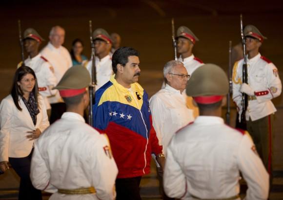 Llegada de Maduro. Foto: Ramon Espinosa/ AP