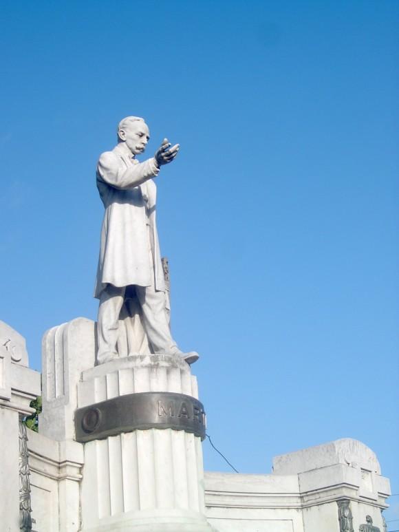 Nuestro Héroe Nacional en un parque de la ciudad de Pinar del Río. Foto: Adrián Medina