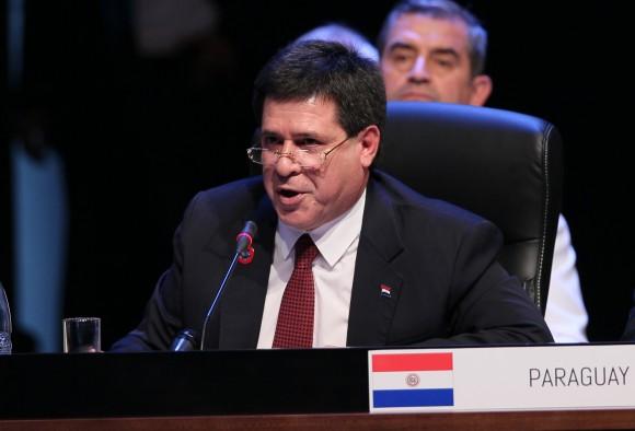 El Presidente de Paraguay, Horacio Cartes. Foto: Ismael Francisco/ Cubadebate