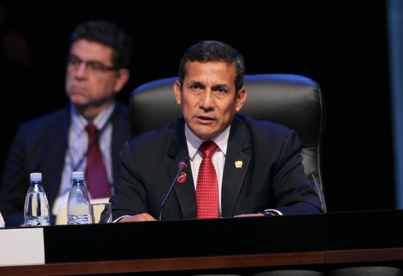 Ollanta Humala, Presidente de Perú. Foto: Ismael Francisco/ Cuba