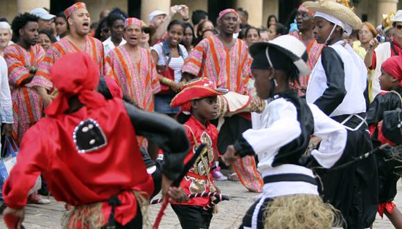 Procesión del Cabildo de Día de Reyes. Foto: Ladyrene Pérez/Cubadebate.