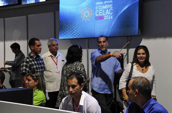 René Gonzalez en la Sala de Prensa. Foto: Ladyrene Pérez/ Cubadebate