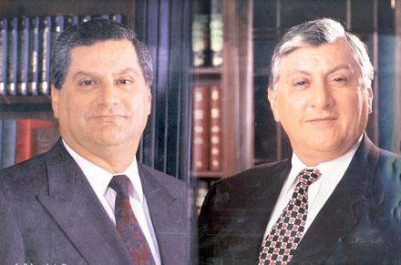 Los hermanos Isaías, prófugos de Ecuador.