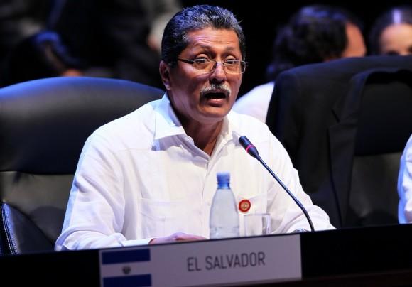 Jaime Miranda Flamenco, Canciller de El Salvador:
