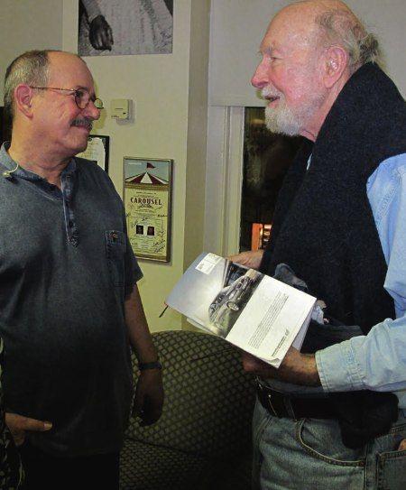 Silvio y Pete Seeger. Foto: Blog Segunda Cita.