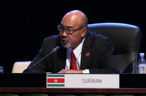 Desiré Delano Bouterse, Presidente de la República de Surinam. Foto: Ismael Francisco/ Cubadebate
