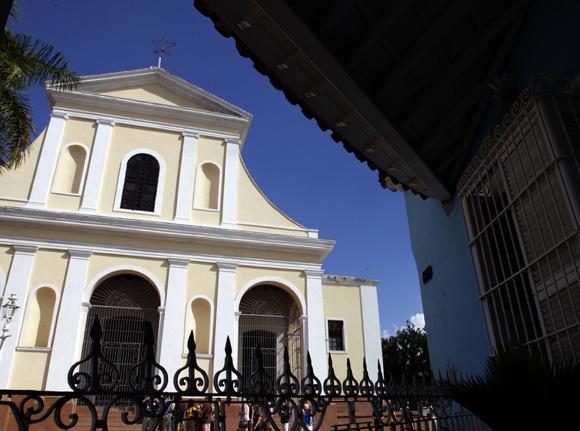 Iglesia Parroquial de la Santísima. Trinidad. Cuba. Foto: Ismael Francisco/Cubadebate.