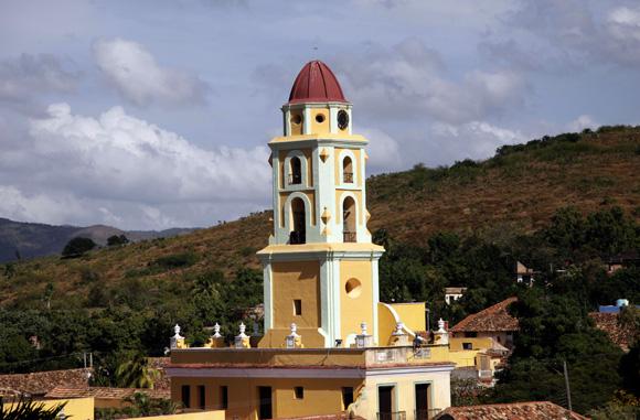 Convento de San Francisco, hoy en día es el Museo de la Lucha contra Bandidos. Trinidad. Cuba. Foto: Ismael Francisco/Cubadebate.