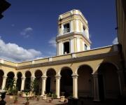 Palacio Cantero, construido en estilo neoclásico a principios de 1800. Hoy en día alberga el Museo Municipal Trinidad. Foto: Ismael Francisco/ Cubadebate