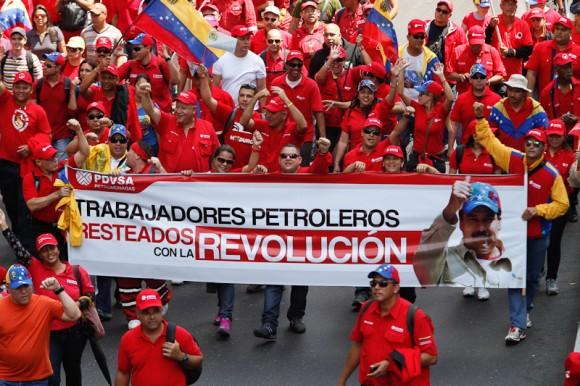 marcha venezuela PDVSA