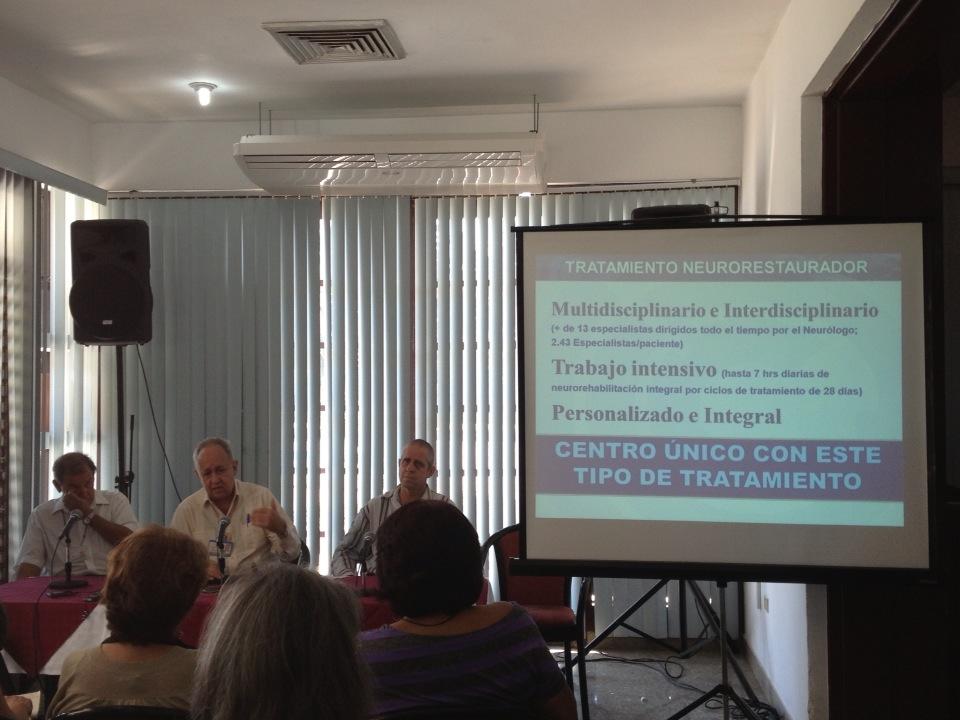 Conferencia de prensa por el 25 aniversario del CIREN. Foto: Alejandra García.
