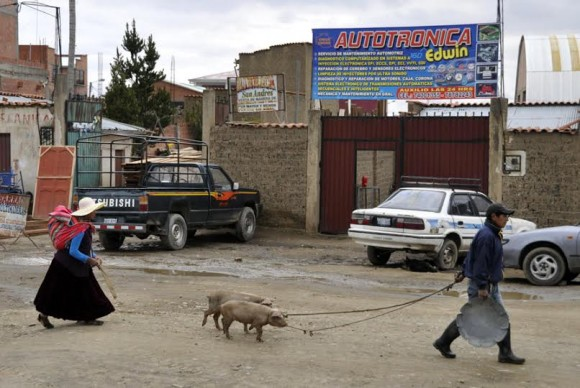 Camino a La Paz. Foto: Kaloian.