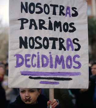 ABORTO ESPANA