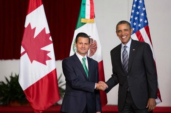 Barack Obama y Peña Nieto