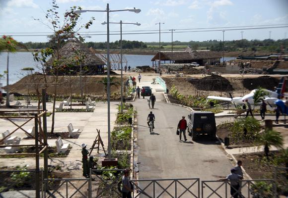 Camagüey, 500 años de Historia. Area de nuevo Parque El Lago de los Sueños. Foto: Daylén Vega/Cubadebate