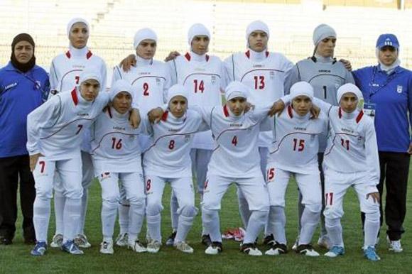 Fútbol Femenino Iraní