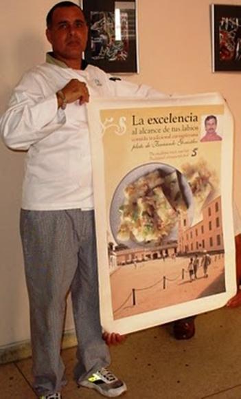 Frank, autor de Cocina Útil. Foto: Radio Rebelde (Archivo).