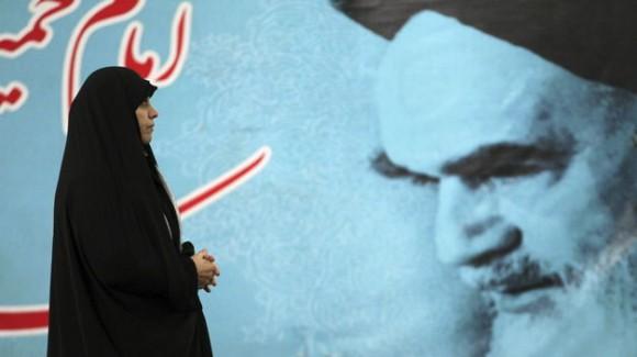 Irán celebra hoy con marchas y discursos oficiales el 35 aniversario de la Revolución Islámica. Foto: EFE.