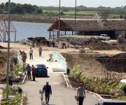 Imagen del proceso constructivo del Parque Lago de los Sueños, 1 de febrero de 2014. Foto: Daylén Vega/Cubadebate