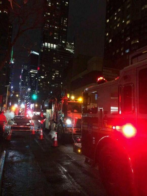 Otra imagen vía Twitter. Foto @NYCityAlerts/ Twitter.