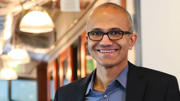 Satya Nadella es el nuevo director general de Microsoft. Foto: AFP (Archivo).