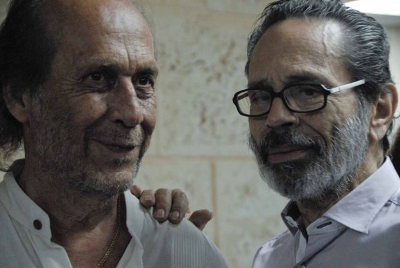 Paco de Lucía y Leo Brouwer. Foto: Iván Soca