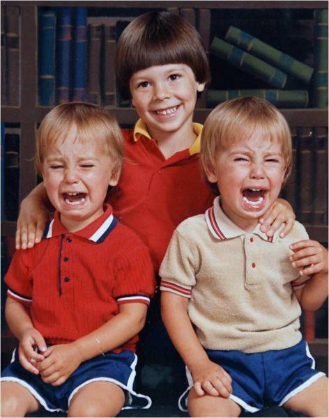 Sonrían niños.