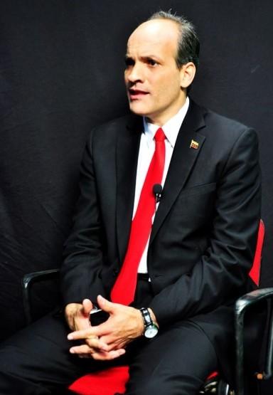 El Ministro del Poder Popular para la Educación Universitaria de Venezuela, Ricardo Menéndez