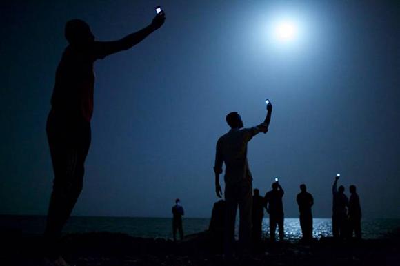 Señal, foto ganadora del Premio Mundial Fotoperiodismo. Foto tomada de sipse.com
