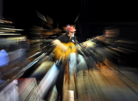 Silvio en la Fábrica del Arte. Foto: Kaloian