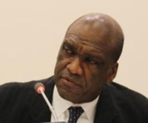 El representante permanente sudafricano ante Naciones Unidas, Jeremiah Nyamane Kingsley Mamabolo,