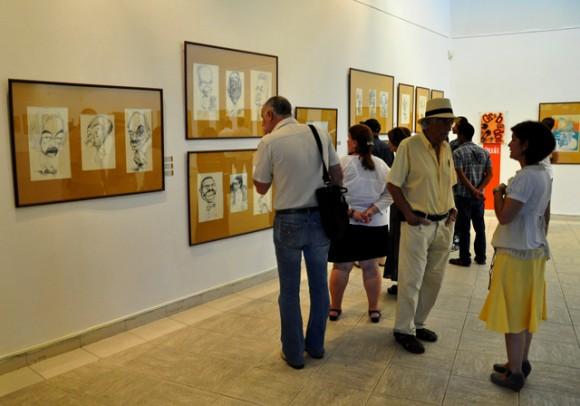 Exposición por el Aniversario 45 del Dedeté. Foto: Roberto Garaycoa / Cubadebate.