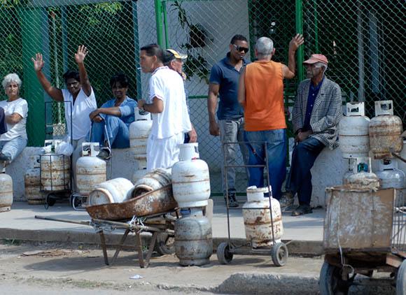 Venta y compra de gas licuado