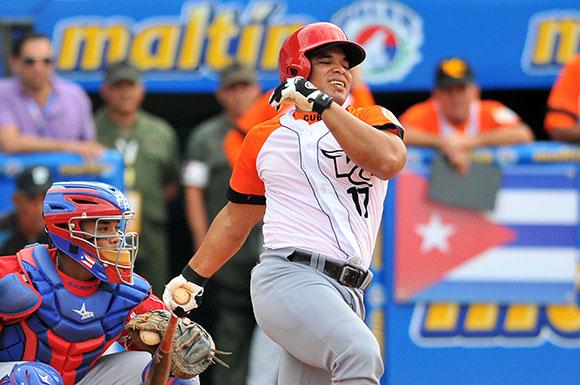 Yuniet Flores en la Serie del CaribeFoto: Ricardo López Hevia/Cubadebate.