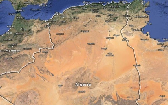 Mapa de Argelia: Google Maps