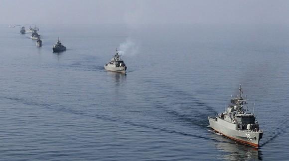 buques de guerra iranies