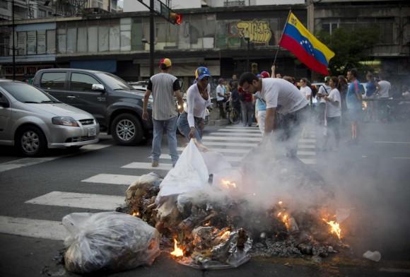 Caracas. Foto: AFP.