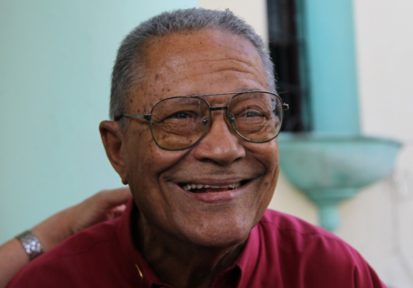 Santiago Cardosa Arias, premio Nacional de Periodismo José Marti. Foto: Ismael Francisco/Cubadebate