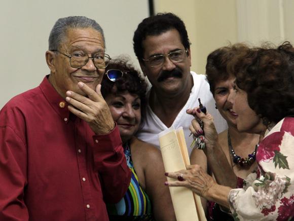 Santiago Cardosa Arias, premio Nacional de Periodismo José Marti. Foto: Ismael Francisco/Cubadebate.