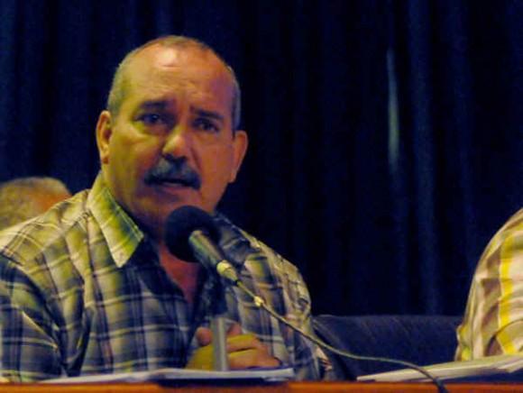 Félix González Viego, presidente de la Asociación Nacional de Agricultores Pequeños (ANAP). Foto: AIN