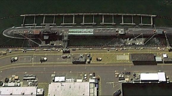 Las fuerzas nucleares estratégicas de EE.UU en Google Earth
