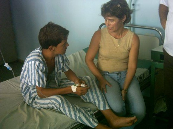 Niños rescatados. Foto: TV Yumurí