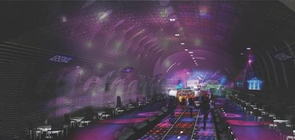 paris metro night club