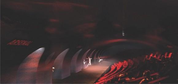 paris metro theater