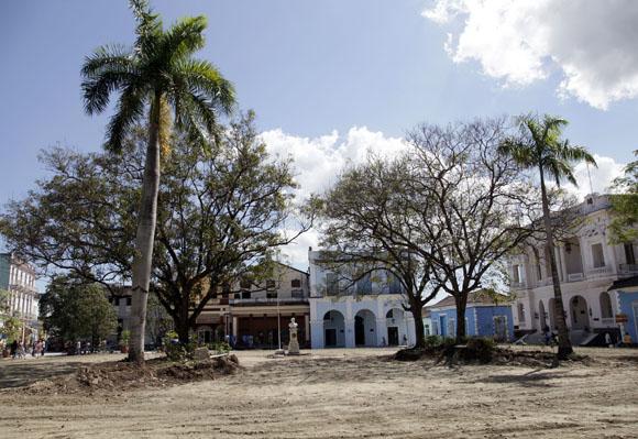 Parque Serafín Sánchez en Sancti Spíritus. Foto: Ismael Francisco/Cubadebate.