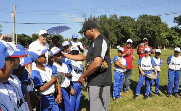 Barry Larkin. Foto: Ladyrene Pérez/Cubadebate.