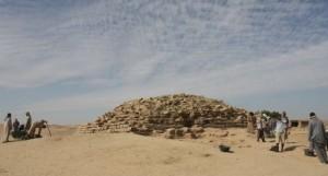 Pirámide de Edfú. Foto tomada de El País
